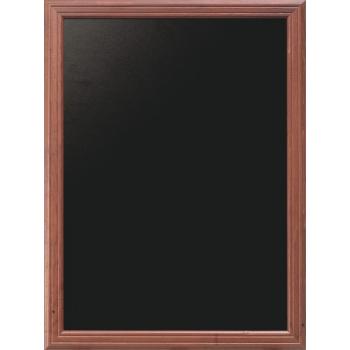Nástěnná tabule Securit 80 x 100 cm - Mahagon