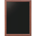 Nástěnná oboustranná tabule 80x100 cm, Mahagon
