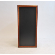 Nástěnná tabule Securit 56 x 120 cm - tmavě hnědá