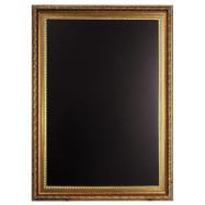 Nástěnná tabule Securit 75 x 105 cm - zlatá