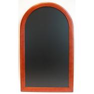 Nástěnná tabule Securit Rondo 60 x 105 cm - Mahagon