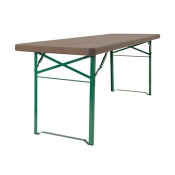 Rautový skládací stůl ZOWN MUNICH 70