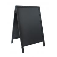 A - tabule 55 x 85 cm Securit Duplo - černá