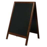 A - tabule 55 x 85 cm Securit Duplo - tmavě hnědá