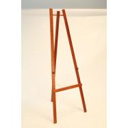 Dřevěný stojan Securit 165 cm vysoký - Mahagon