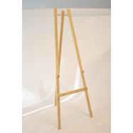 Dřevěný stojan Securit 165 cm vysoký - Plain