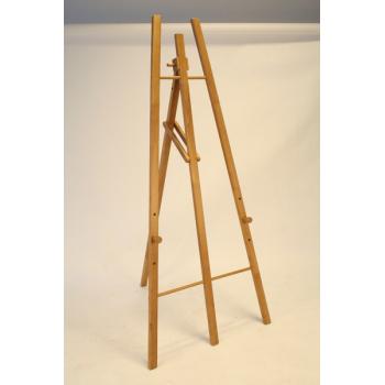 Dřevěný stojan Securit 165 cm vysoký - Teak