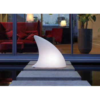 Svítící dekorace Shark