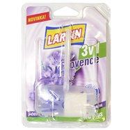 LARRIN WC ZÁVĚS DUO Provence fialový (komplet, blistr), 40g