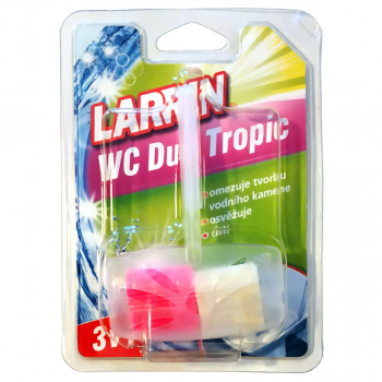 LARRIN WC ZÁVĚS DUO Tropic, 40g