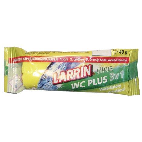 Larrin WC Plus zelený (náhradní náplň), 40g
