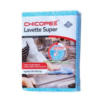Utěrky CHICOPEE Lavette Super 51x36 cm/10 ks - modré