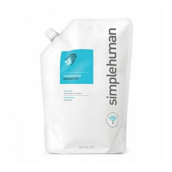 Neparfémované tekuté mýdlo Simplehuman – 1 l náhradní náplň
