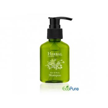 Šampon na vlasy a tělo v lahvičce, 80 ml, Herbal collection