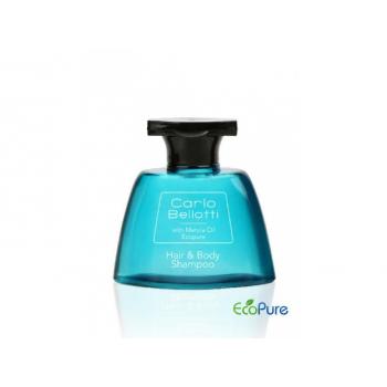 Šampon na vlasy a tělo v lahvičce, 40 ml, Carlo Bellotti