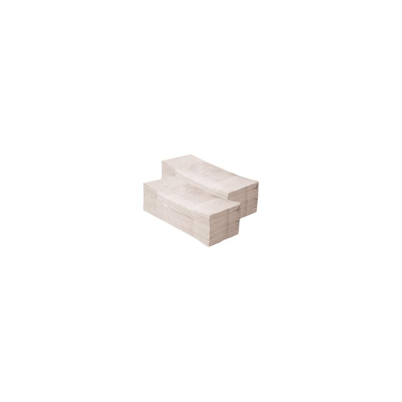 Papírové ručníky skládané EKONOM ŠEDÉ (dříve PZ74)