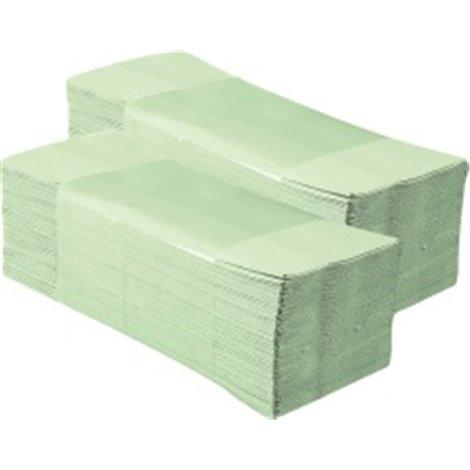 Papírové ručníky skládané MERIDA ZELENKAVÉ PZ10