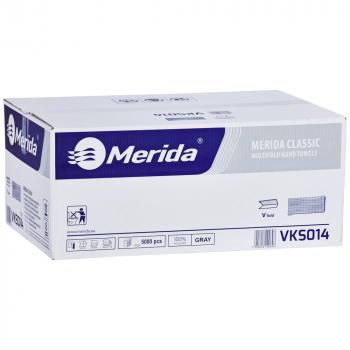 Papírové ručníky skládané MERIDA ŠEDÉ (dříve PZ14)