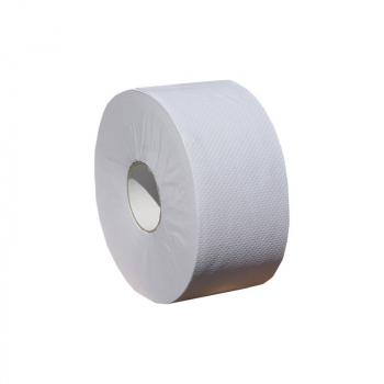 Toaletní papír MERIDA OPTIMUM SUPER BÍLÝ-role o průměru 19 cm