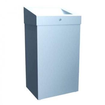 Odpadkový koš otevřený STELLA PLUS, 47 litrů- lesklý
