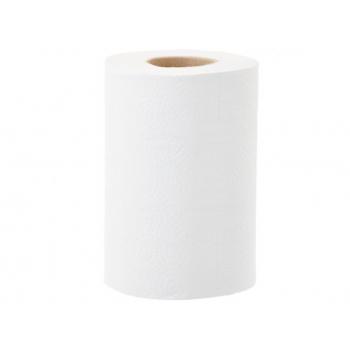 Papírové ručníky v rolích MERIDA OPTIMUM MINI, 2 vrstvé, bílé