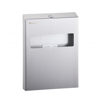 Zásobník na hygienické podložky na toaletu STELLA - matný