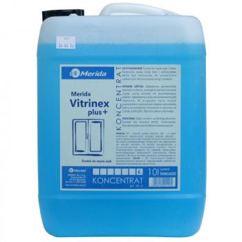 Prostředek na mytí oken a zrcadel Merida VITRINEX Plus 10l