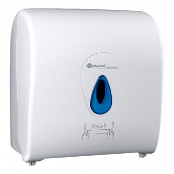 Mechanický podavač papírových ručníků v rolích MERIDA TOP MAXI - modré okénko