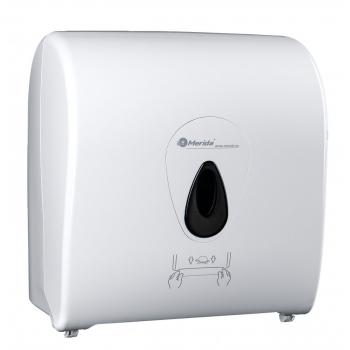 Mechanický podavač papírových ručníků v rolích MERIDA TOP  MAXI - šedé okénko