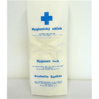 Hygienické sáčky papírové 100 ks/bal (25bal/kar)