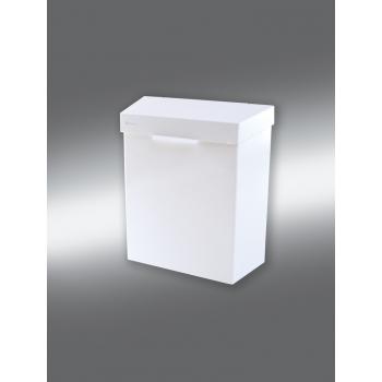 Koš na sanitární odpad STELLA bílý