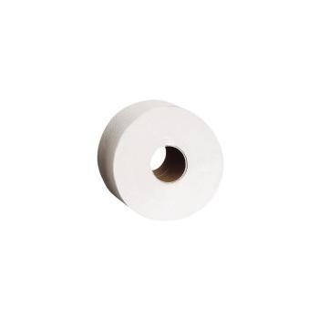 Toaletní papír 23 cm, 2-vrstvý, 100% celuloza,180 m (6 rolí/bal)