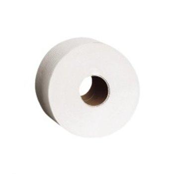 Toaletní papír 18 cm, 2-vrstvý, 100% celuloza, 100 m (12rolí/bal)