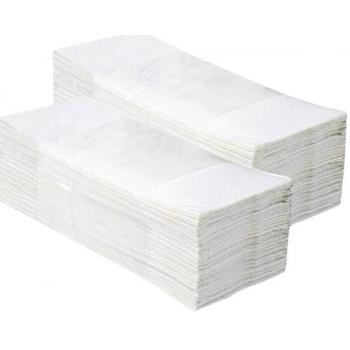 Jednotlivé papírové ručníky 3200 ks, 100% celulóza, 2-vrstvé