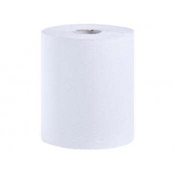 Papírové ručníky v rolích FLEXI MAXI, bílé, 1 vrst., 320 m, (6 rolí/bal)