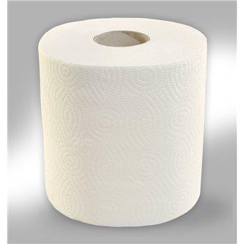 Papírové ručníky v rolích MAXI, 2 - vrst., 100% celulóza, 100 m, (6 rolí/bal)