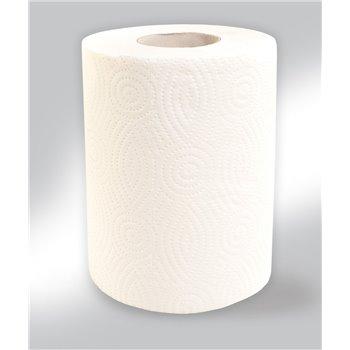 Papírové ručníky v rolích MINI, 2 - vrst., 100% celulóza, 50 m, 12 rolí / bal.