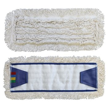 Mop se záložkami STANDARD, bavlna, 50 cm