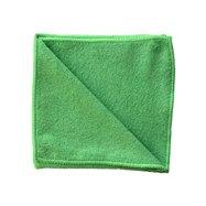 Utěrka z mikrovlákna ECONOMY, zelená, 35x35 cm
