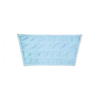 Mop z mikrovlákna PREMIUM MINI, modrý - lichoběžník, 32/24 x 16 cm
