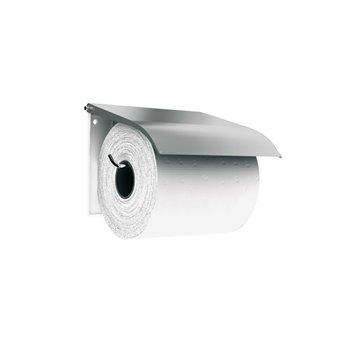 Zásobník na toaletní papír klasický,matný nerez
