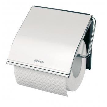 Zásobník na toaletní papír klasický, chrom, lesk