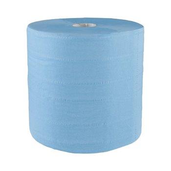 Papírové čistivo EKONOMIK, modré - 4 vrstvé (2role/balení)