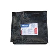 Pytle na odpadky LDPE, 38 mi, 70x110cm,120 l,černé 50 ks/b