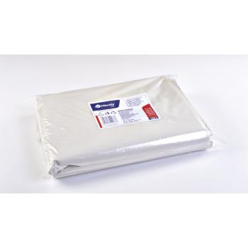 Pytle na odpadky LDPE, 38 mi, 70x110cm,120 l,bílé 50 ks/b