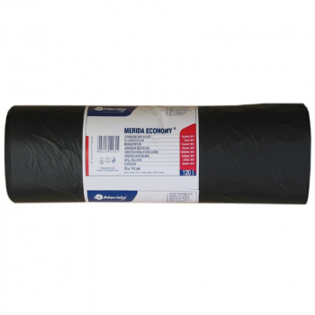 Pytle na odpadky HD+LL 19 mi, 70x110cm,120 l,černé 50 ks/b