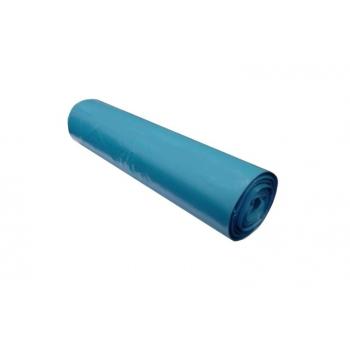 Pytle na odpadky LDPE, 80 mi,70x110cm,120 l, modré 15ks/b