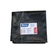 Pytle na odpadky LDPE, 40 mi,90x110cm,160 l, černé 10ks/b