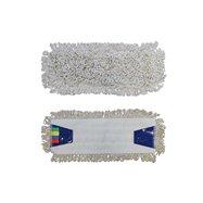 Mop se záložkami ECONOMY 40 cm, bavlna, bílý