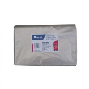Pytle na odpadky LDPE, 38 mi, 70x110cm,120 l,čiré 50 ks/b